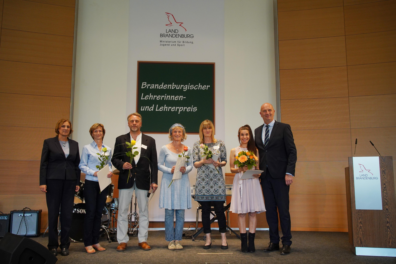 Verleihung Brandenburgischer Lehrerinnen- und Lehrerpreis 2019